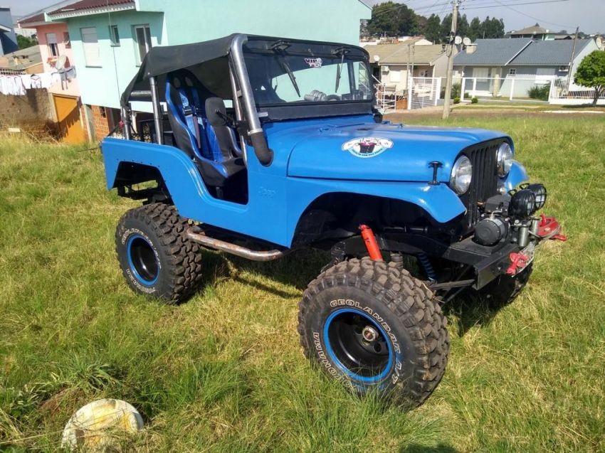 jeep willys 3.0 1962 passo fundo
