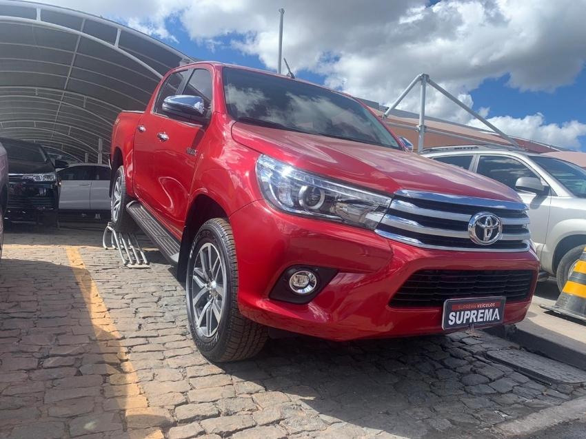 Toyota hilux cabine dupla srx aut 4fd diesel 5p automatico 2018