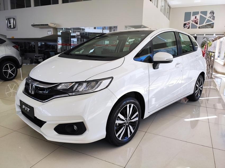 Image Honda Fit Exl Cvt Flex 4p Automatico 2020