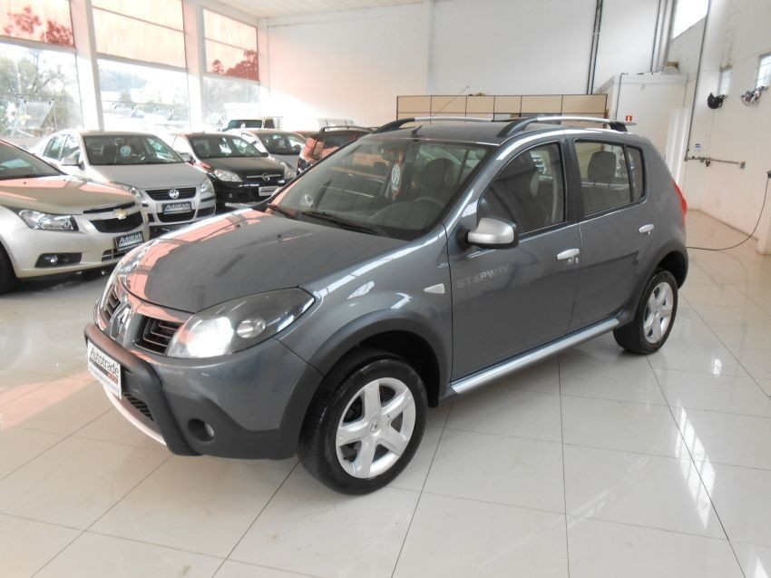 sandero 1.6 16v stepway flex 4p manual 2009 caxias do sul