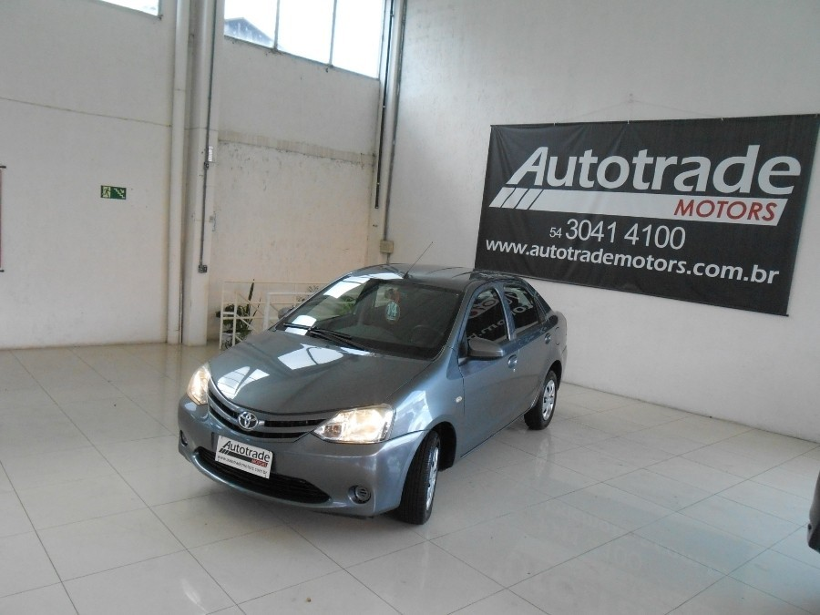 etios 1.5 x sedan 16v 4p manual 2014 caxias do sul