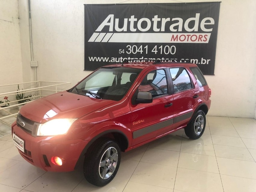 ecosport 1.6 8v flex xlt freestyle 4p manual 2008 caxias do sul