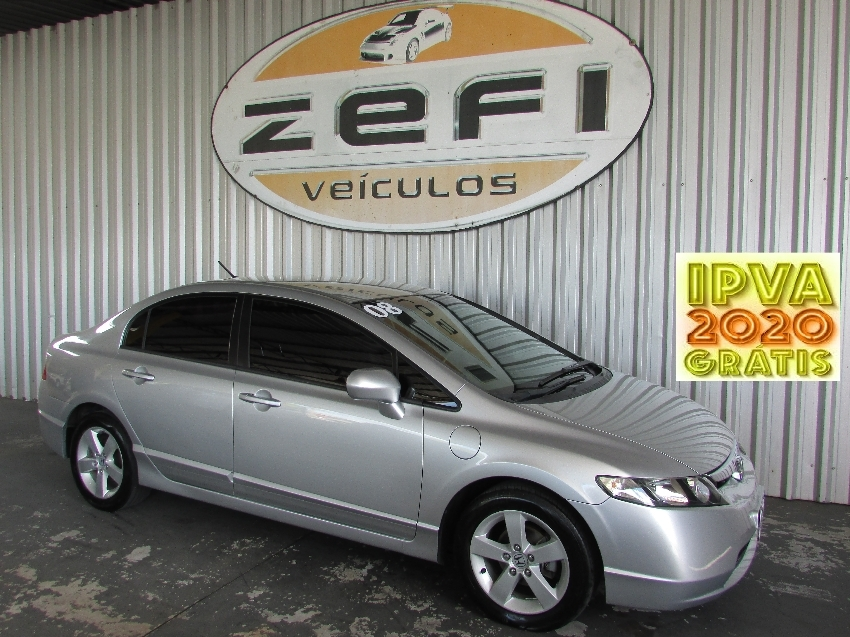 civic 1.8 lxs flex 2008 caxias do sul