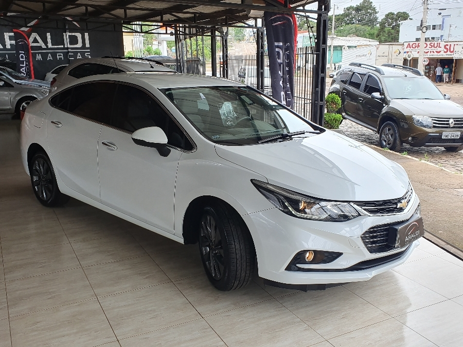 CRUZE LTZ 1.4 TURBO SEDAN - 2017 - LAGOA VERMELHA
